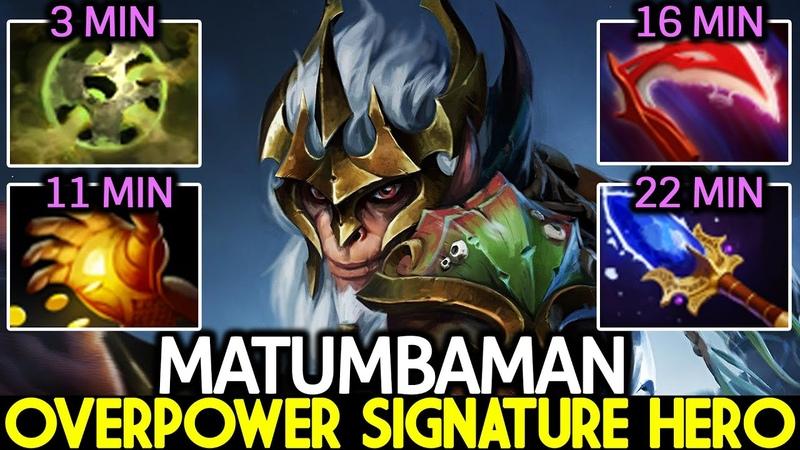 MATUMBAMAN Monkey King Overpower Signature Hero VS TOPSON Mid Dota 2