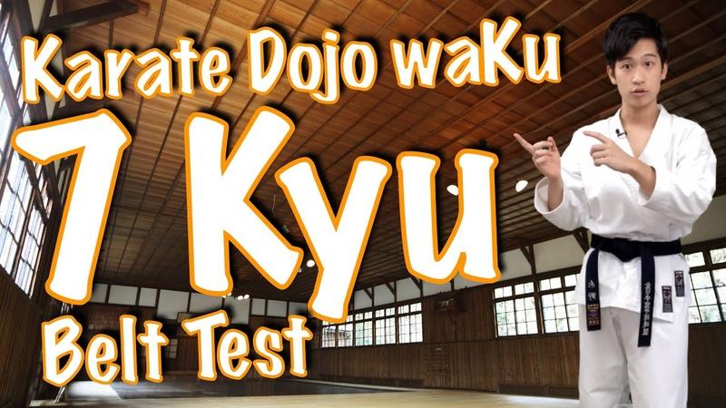 7 Kyu Belt Requirements |Karate Dojo waKu