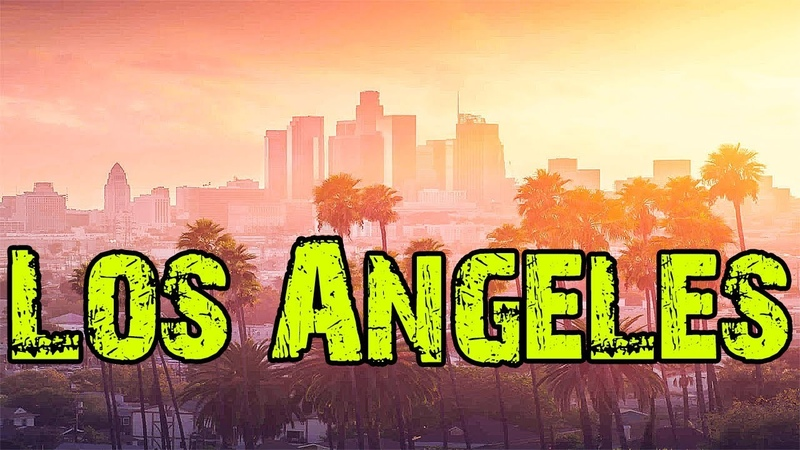 Город мечта Лос Анджелес Смотри как живут в США