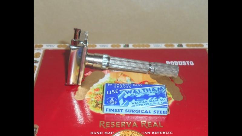 Gillette 1965 Super-slim Replated Adjustable Razor Rhodium K2–77Y