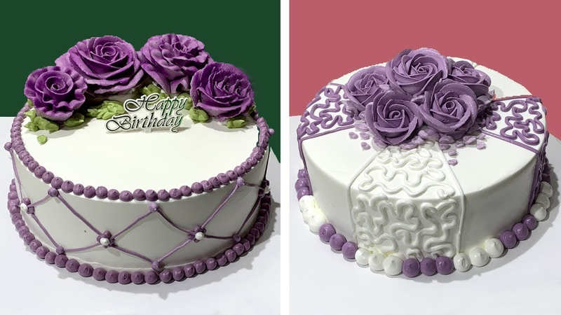 Awesome Creative Cake Decorating Ideas for Beginner   How to Make Chocolate Cake at Home   SO EASY