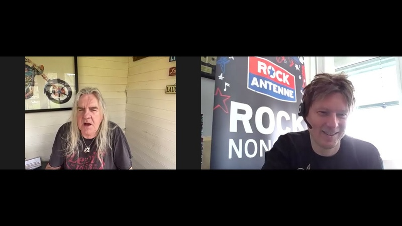 Saxon Interview 2021 Biff Byford on Inspirations turning 70 and more @ROCK ANTENNE