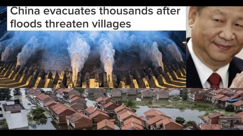 China evacuates thousands after floods threaten villages 3 gorges dam