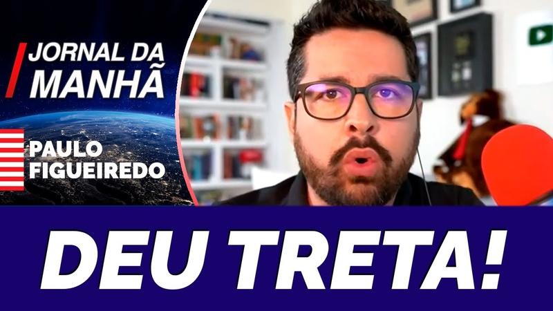 TRETA Paulo Figueiredo Dá Verdadeira AULA de Ciência a Diogo Schelp