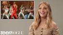 Разбор танцевальных движений - артистов. Maddie Ziegler Tries Iconic Music Video Dances Teen Vogue