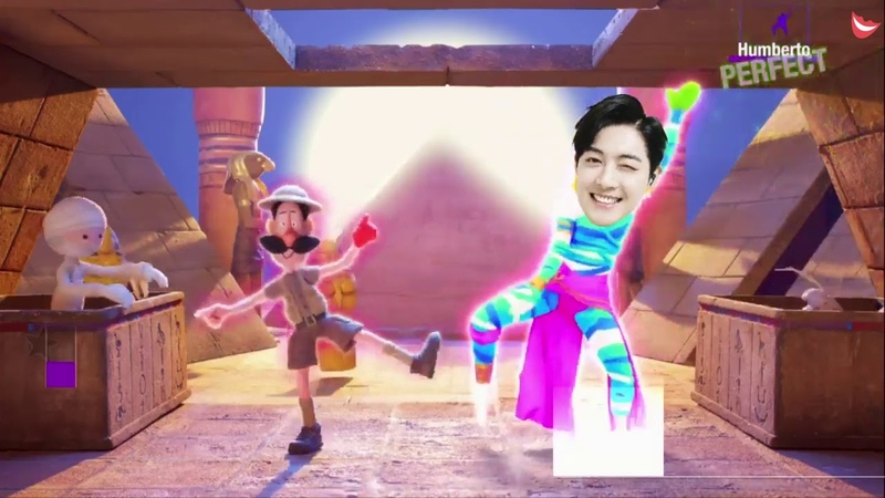 Kim Hyun Joong cartoon smile