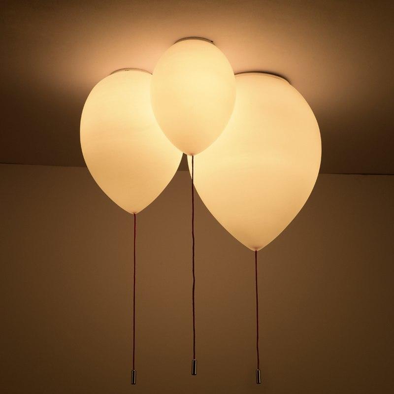 Светильники в виде воздушных шариков -