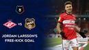 Jordan Larssons Free-Kick Goal RPL 2020/21
