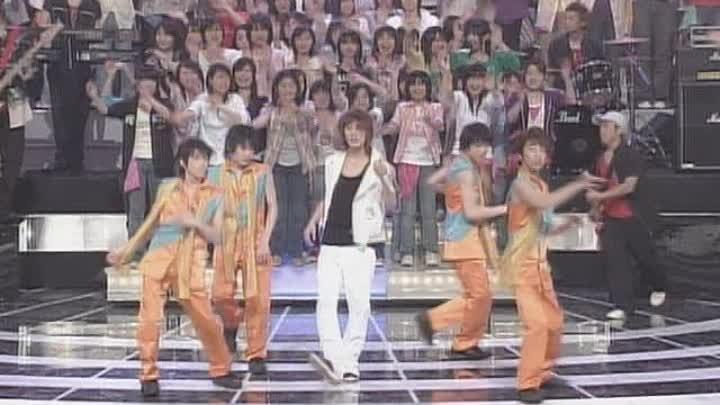 [2004.06.06] Akanishi and Kamenashi - LOVE and DREAMTsuki no Michi (Shounen Club)