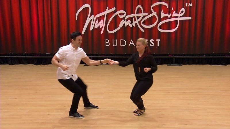 Jordan Frisbee Tatiana Mollmann Pro Show Lead Follow Budafest 2019