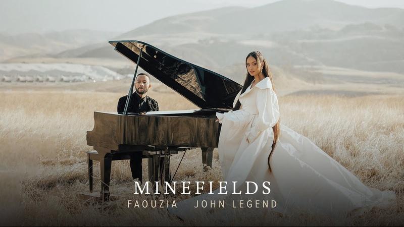 Faouzia John Legend - Minefields (Official Music Video)