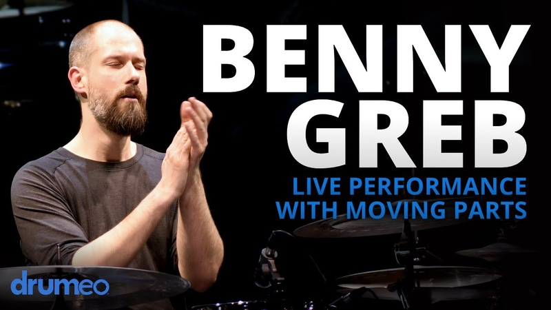 Benny Greb Moving Parts Drumeo Festival 2020