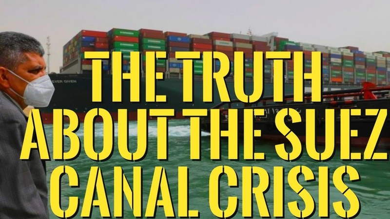 👉The Truth About The Suez Canal Crisis The Supply Chain Breakdowns Inventory Shortages