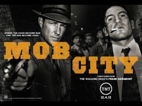 Русский Трейлер сериала Город гангстеров Mob City 2013 от создателя Ходячих Мертвецов