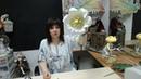Бесплатный мастер-класс «Ландыши», декор-элемент для интерьера, фотосессий. Мастер Наталья Дроздова.