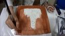 мастер класс по золочению на полимент сусальным золотом Этап первый нанесение полимента