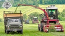 Заготовка кормов комбайнами ПОЛЕСЬЕ - КВК-800, К-Г-6, УЭС-280 тракторы МТЗ, Камаз, ЗИЛ-130