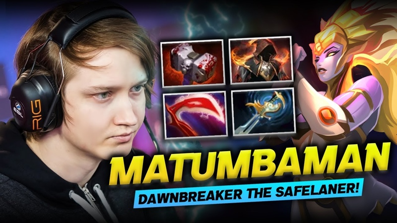 Dota 2 Dawnbreaker Safe Lane Gameplay Patch 7 29 by MATUMBAMAN Learn New Hero for Carry Build