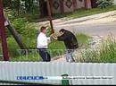 Руководитель ГУФСИН по воспитательной работе в форме и при погонах ввязался в драку с соседом и разорвал ему артерию