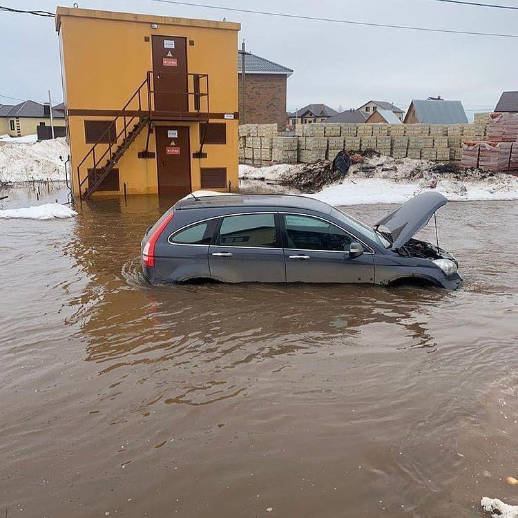 В Столбище настоящее стихийное бедствие