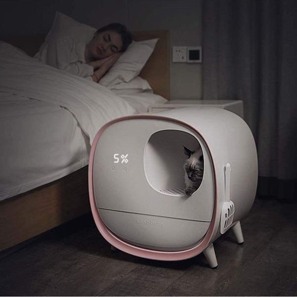 Умный биотуалет для кота -