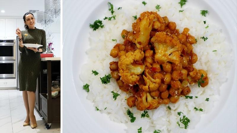 Ծաղկակաղամբով Սիսեռով Կարի Մասալա Curry Masala Heghineh Cooking Show in