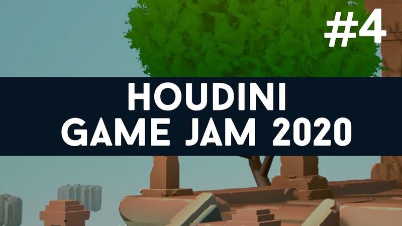 Houdini GameJam 4 Habitat escape Light up