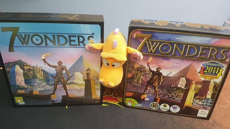 7 Wonders 2010 vs 2020 edition comparsion