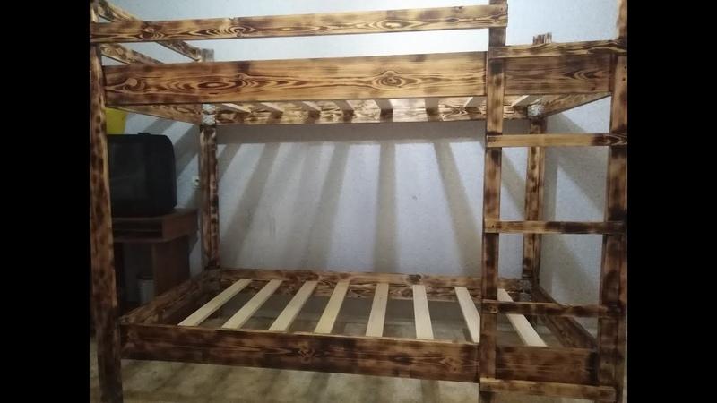 Двухъярусная кровать своими руками do-it-yourself bunk bed