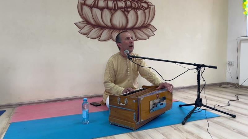 Ишана прабху Киртан на Рама навами г Смоленск 25 04 21
