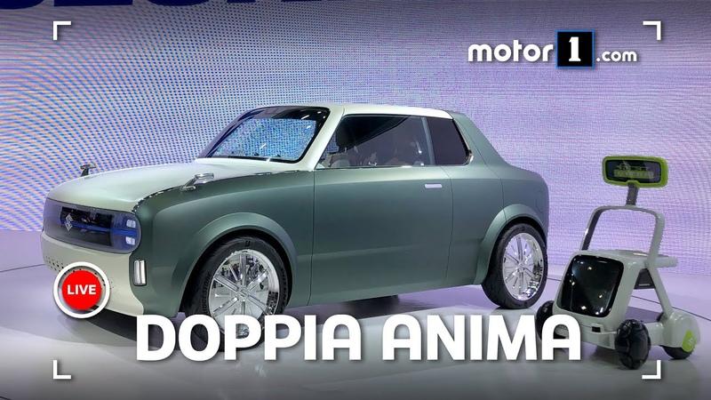 Suzuki Waku Spo 2020 Concept Tetto che scompare al Salone di Tokyo 2019