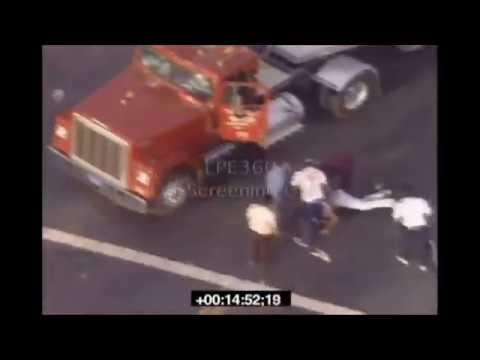 Uncut L A Riot Footage Reginald Denny Beating Looting
