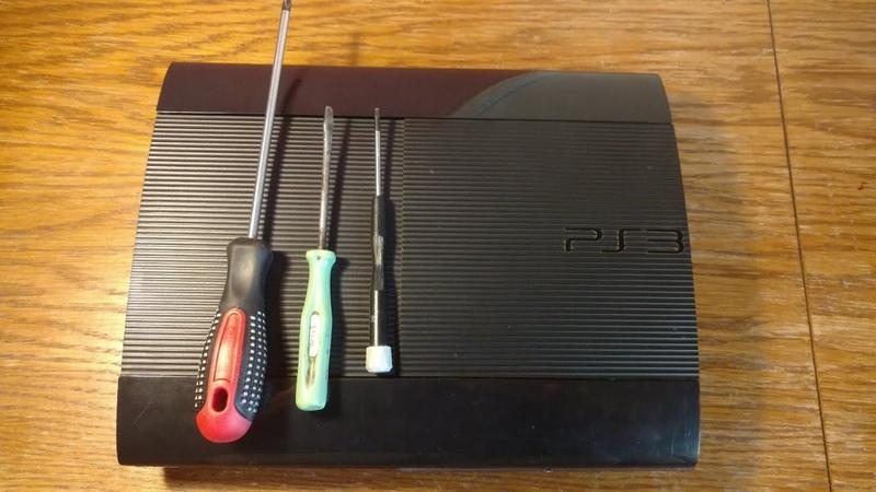 Разборка PS3 Super Slim в домашних условиях