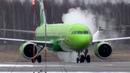 Душ перед полетом. De-icing S7 Airlines в Домодедово