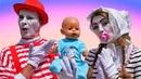 Куклы БЕБИ БОН и Друзья! - Игры для девочек дочки матери с Baby Born. Смешные видео игры одевалки