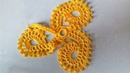 Трилистник старинного ирландского кружева. Разбор схемы, вязание цветка.