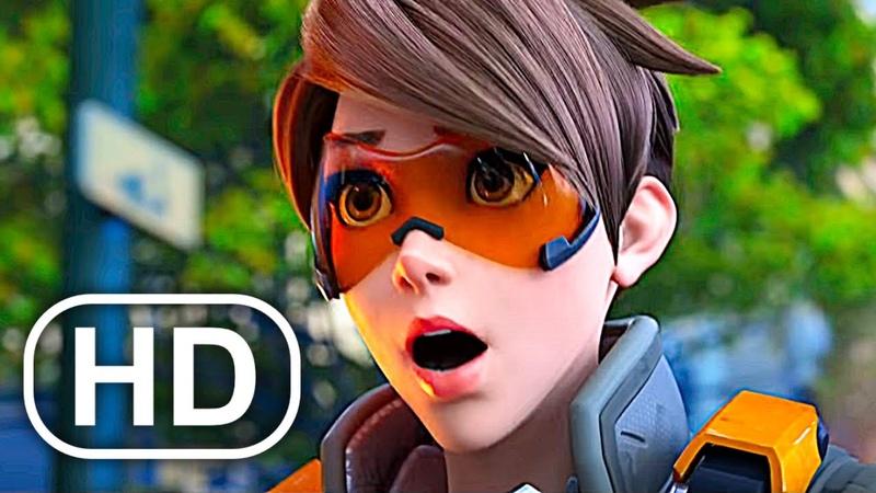 OVERWATCH 2 1 Full Movie (2020) All Animated Short Cinematics 4K ULTRA HD